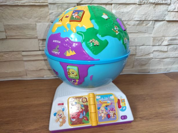 Globus odkrywcy Fisher price