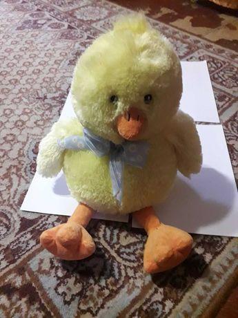 Мягкая игрушка цыпленок, 35 см