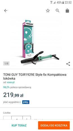 Kompaktowa lokówka Toni & Guy NOWA!