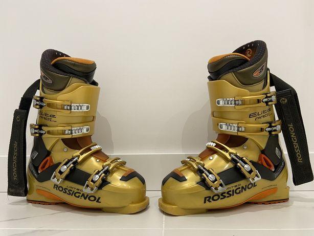 Buty narciarskie Rossignol ElitePro1LTD, rozmiar 27.5, zadbane!
