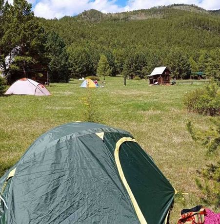 Палатка туристическая бу 2х местная