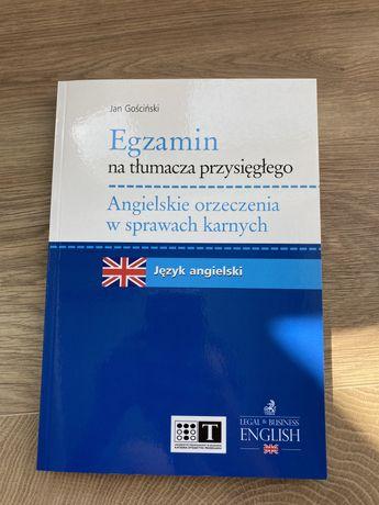 Egzamin na tłumacza przysięgłego. Angielskie orzeczenia w sprawach kar