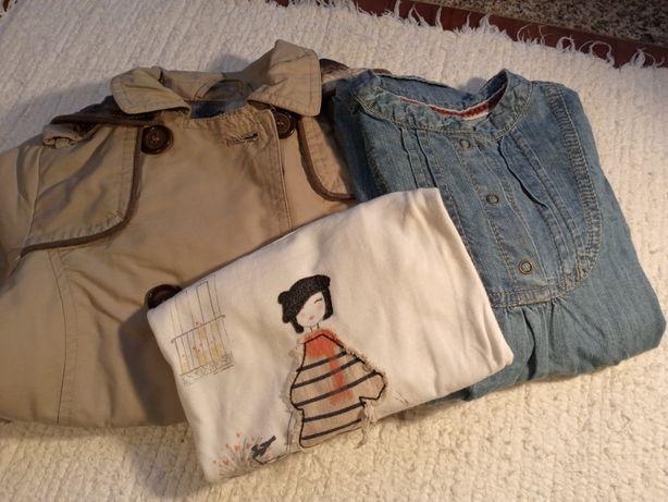 """Conjunto de roupa """"Zara"""" de menina 2-3 anos"""