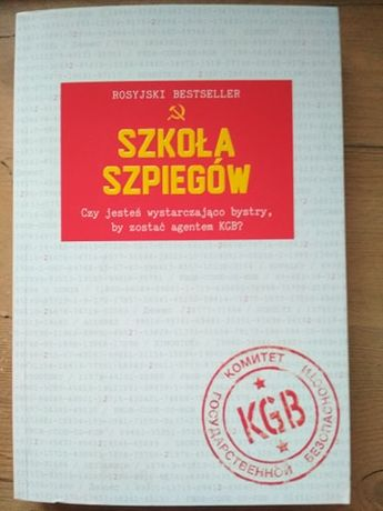 Szkoła szpiegów, rosyjski bestseller (wliczony kw)