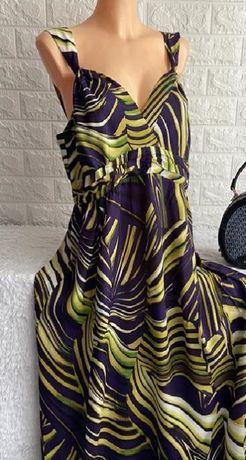 Сарафан платье в пол большого размера
