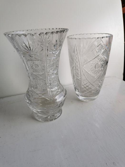 Wazon wazony 2szt kryształ duże Łagiewniki Małe - image 1