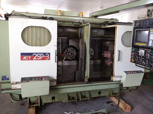 Tokarka CNC automat tokarski 2 wrzec. Okuma Howa ACT-2SP-3