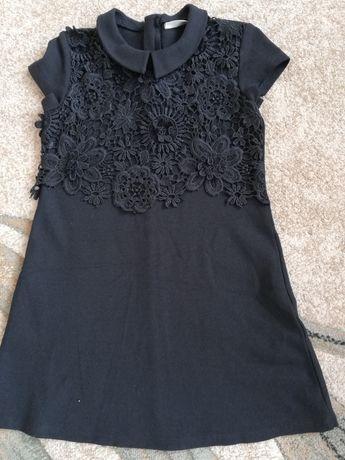 Sukienka 110/116 Next, wójcik, mayoral, coccodrillo, czarna