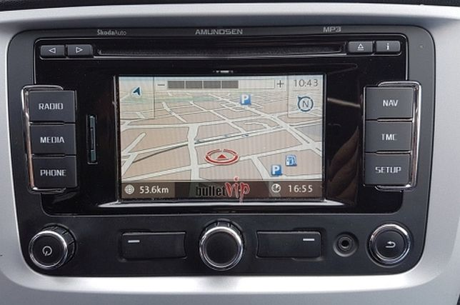 VW Skoda Seat Mapa V12 Europa 2020 RNS310 RNS315 Karta SD Nawigacja