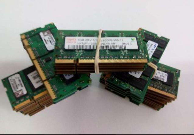 Memórias Ram ddr ddr2 ddr3 - 8Gb/ 4Gb / 2Gb / 1Gb