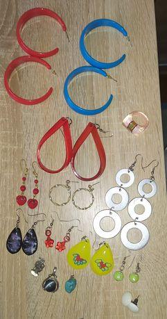 Серьги, кулоны, кольцо