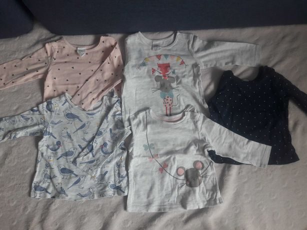 Bluzki z długim rękawem H&M 68