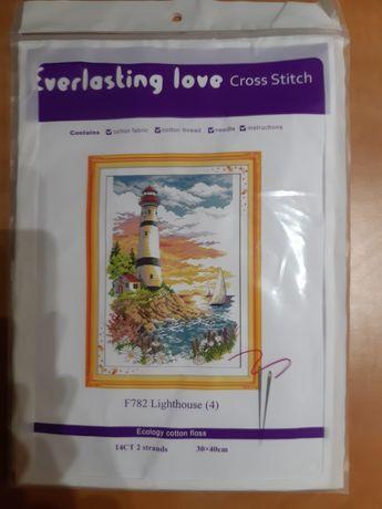 набор для вышивки крестом маяк
