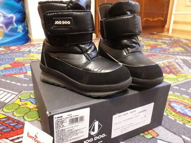 Ботинки с мехом Jog Dog 28 размера  art 1222r.