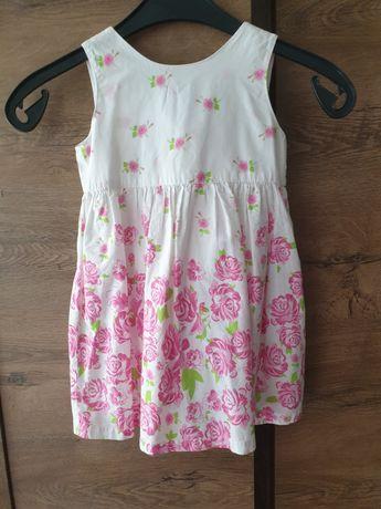 Sukienka na lato rozmiar  92-98