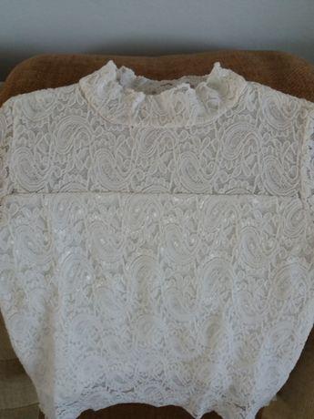 Koronkowa bluzka dziewczęca rozm.134