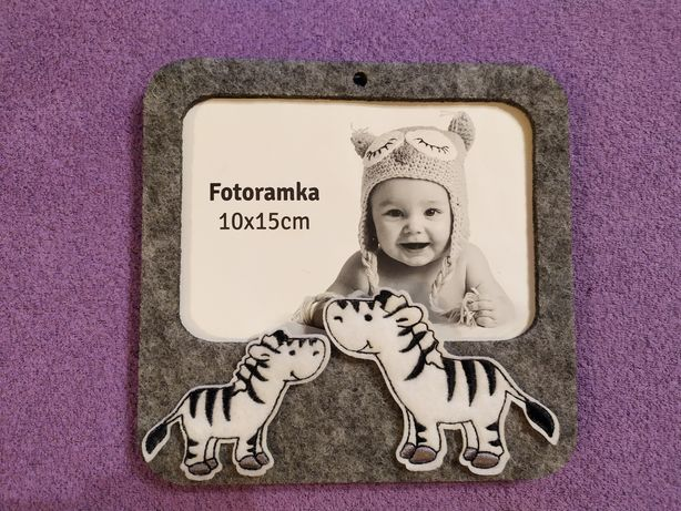 Filcowa fotoramka 10x15