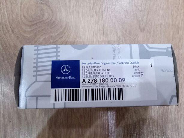 Фильтр масляный на Mercedes 278 мотор