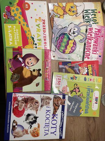 Ksiażki i kolorowanki dla dzieci