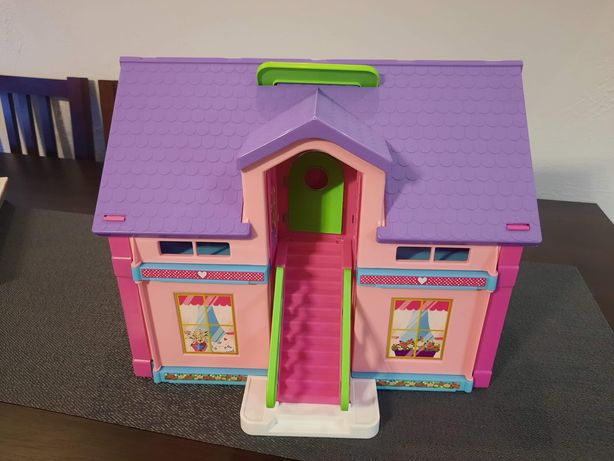 Domek dla lalek Vader Play house 2 piętrowy + figurka Elza, 2+