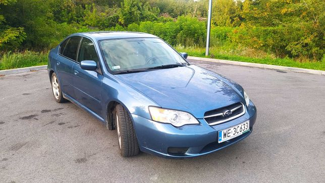 Subaru Leagacy 2006, 2,5 l benz 121.000 mil - doinwestowany