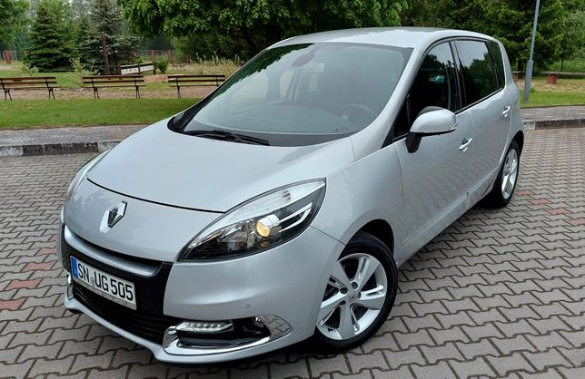 Renault Scenic III LIFT Benzynka TCe 115Km/Wypas/NÓWKA/Niemcy/Alu 17'