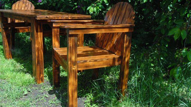 Meble ogrodowe stół krzesła