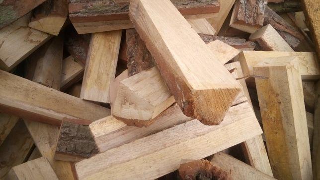 Tani opał - DĘBOWA KLEPKA - drewno opałowe