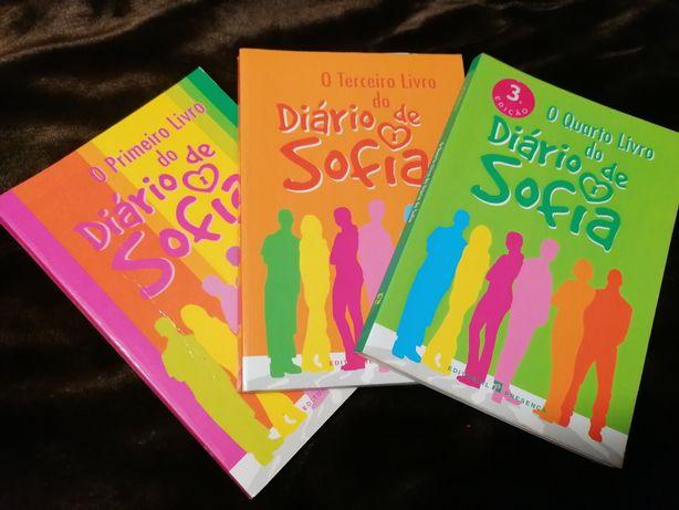 """Livros """"O diário de Sofia"""""""