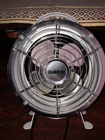 Вентилятор (дуйчик) металлический.
