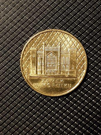 2-złotówka Zamek w Kórniku z r. 1998