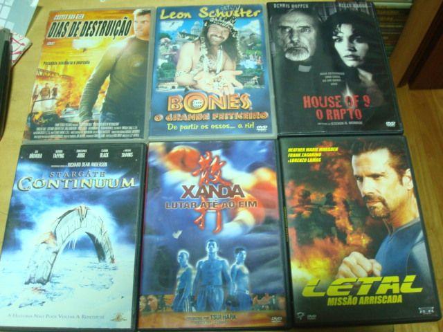 lote 23 dvds alguns muito raros Trofa - imagem 1