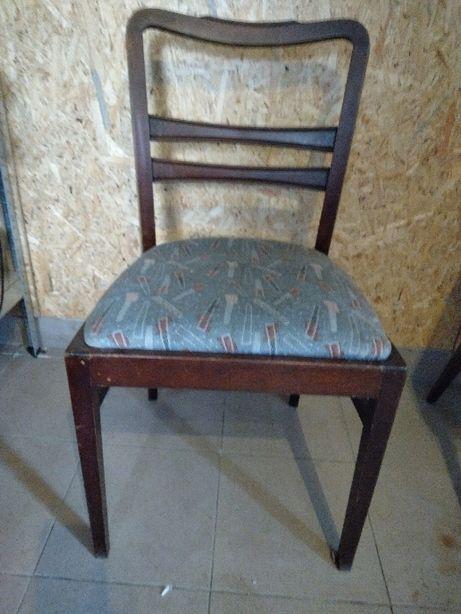 Krzesła retro drewniane do odnowy