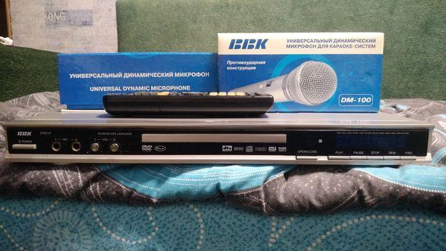 Продам Dvd bbk dv521s с микрофонами