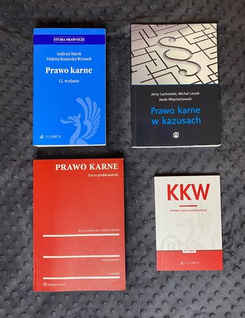 Zestaw książek - Prawo karne