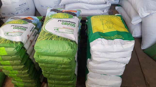 Nasiona traw, kwalifikowane, mieszanki i pojedyncze gatunki - tanio
