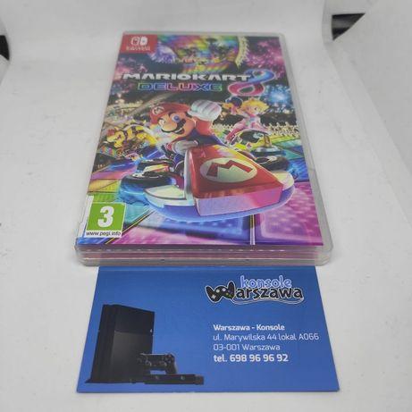 Mario Kart 8 Deluxe Nintendo Switch Wyścigi 4 osoby Sklep Wysyłka