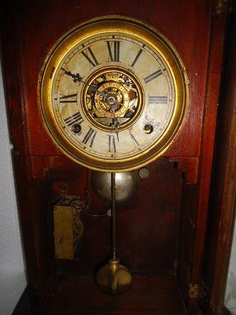 Relogio antigo E.N.Welch com despertador 1910