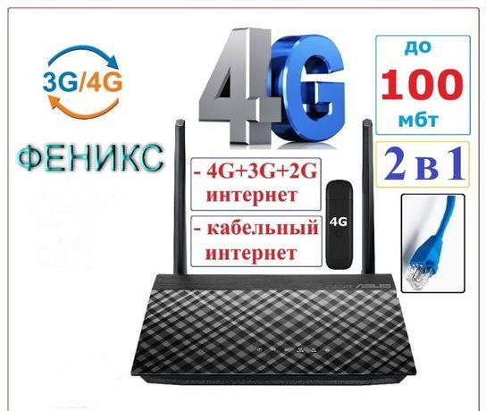 Маршрутизатор роутер Asus 4G 2 порта USB