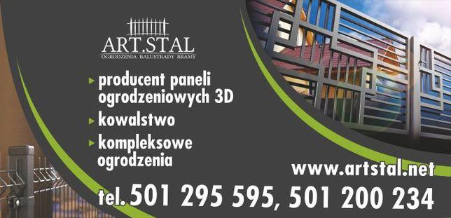 Ogrodzenia panelowe panele ogrodzeniowe panel 150 fi4 PRODUCENT22,