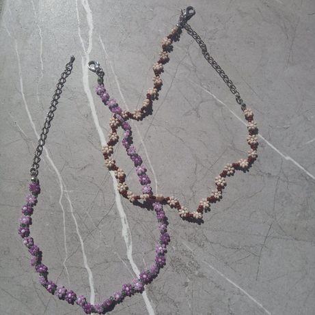 Подвески,браслеты, серьги из бисера