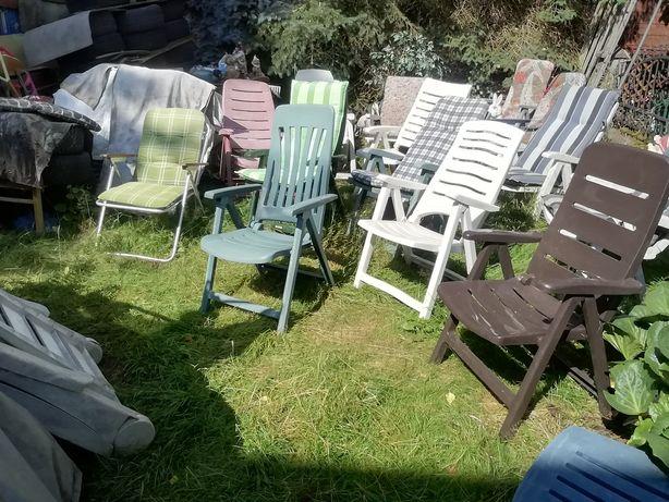 Krzesła ogrodowe z Niemiec
