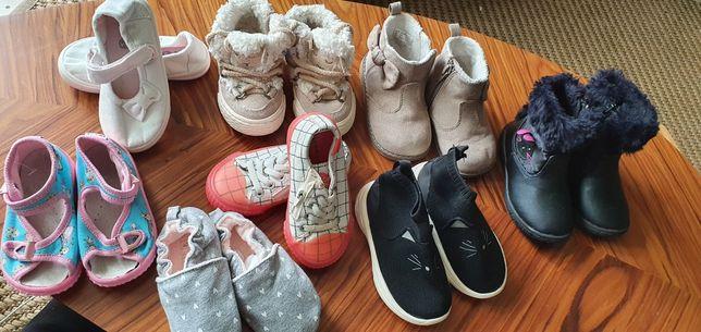 Zestaw bucików Zara H&M 20-21