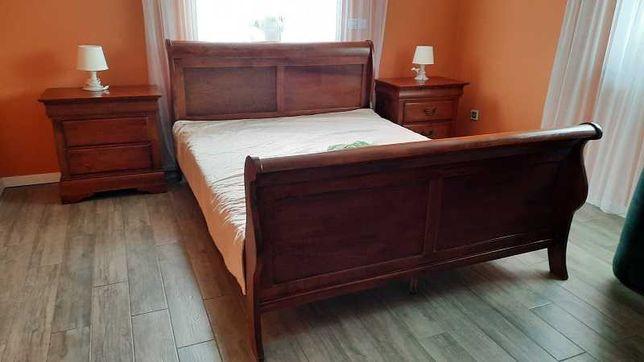 Sypialnia z prawdziwego drewna