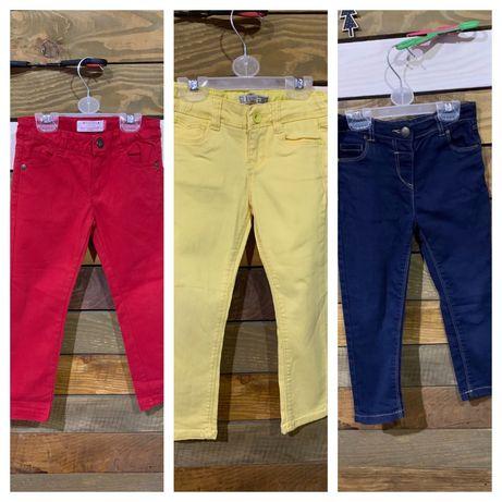 Штани ( брюки, джинси) H&M, Mayoral, okaїdi , TU,3-4 роки 98-104