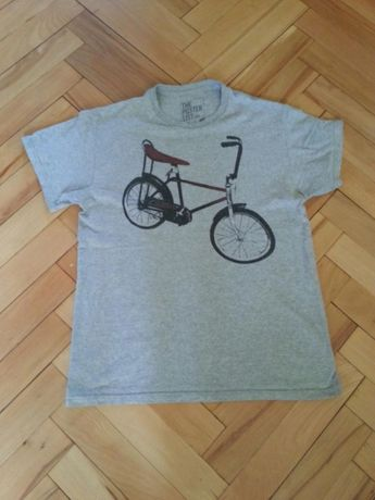 T-shirt z rowerem M