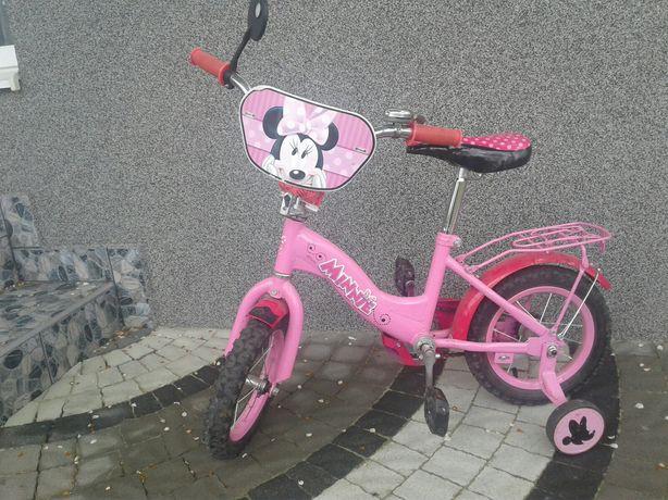 Велосипед двоколісний Мінні Маус Рожевий