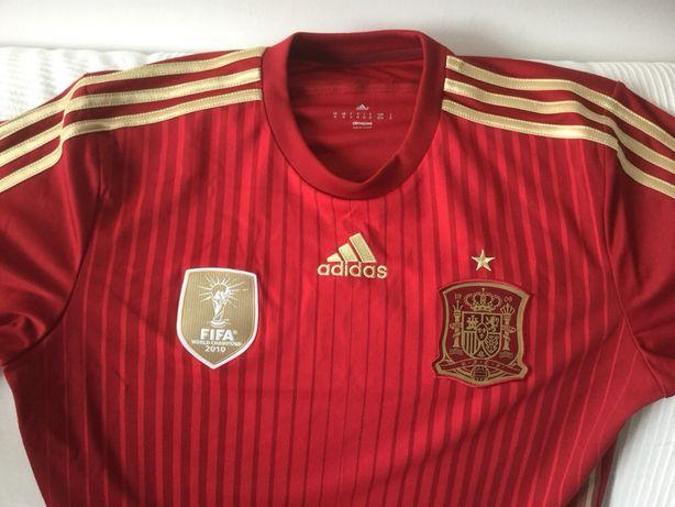 Koszulka piłkarska reprezentacji Hiszpanii marki Adidas rozmiar M