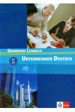 Unternehmen Deutsch Grundkurs Lehrbuch A1 + A2