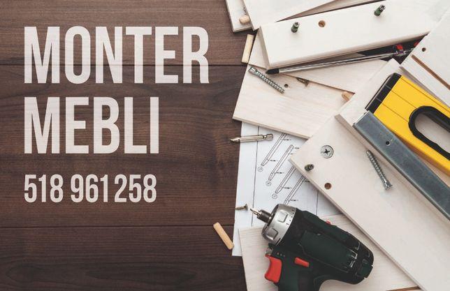 Monter mebli. Składanie skręcanie montaż Meble z paczek JYSK BRW IKEA